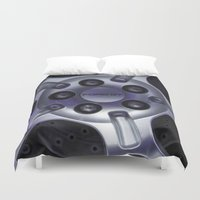 ford Duvet Covers featuring Ford GT by Hannah Korte
