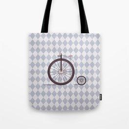 Vintage Unicycle Tote Bag