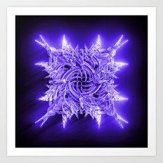 Cold As Steel Art Print