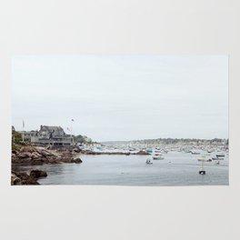 Massachusetts Fishing Village Rug