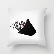 Magic Pyramid Throw Pillow
