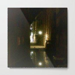 Il Ponte Dei Segreti Di Mezzanotte Metal Print