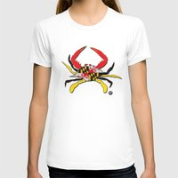 house md T-shirts featuring MD Crab by EBz Designs