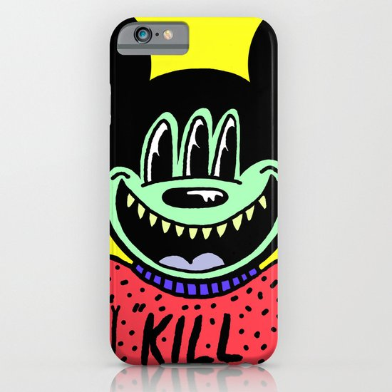 """KILL ME"".  (Mickeyes). iPhone & iPod Case"
