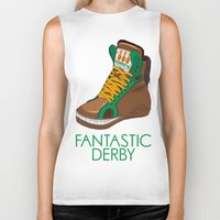 sneakers Biker Tanks featuring Horse Sneakers by TurkeysDesign