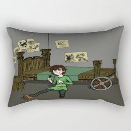Hiccup Adjustments Rectangular Pillow