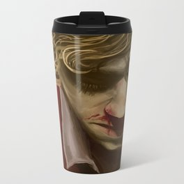 Enjolras Portrait Metal Travel Mug