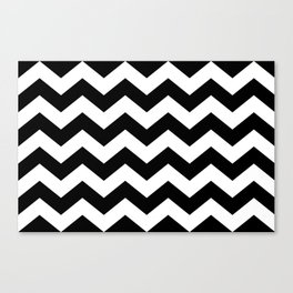 Striped Lodge Canvas Print