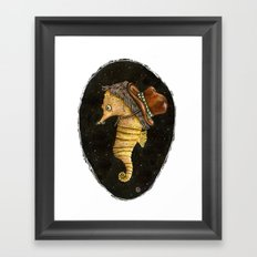 time travels with us Framed Art Print