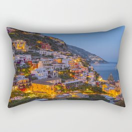 A Serene View of Amalfi Coast in Italy Rectangular Pillow