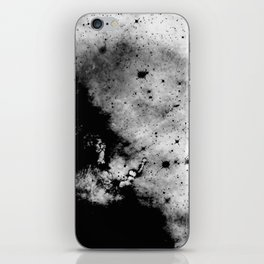 War - Abstract Black And White iPhone Skin