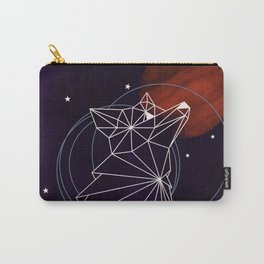 Fox in the Stars Carry-All Pouch
