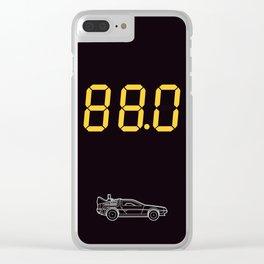 DeLorean Clear iPhone Case