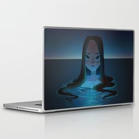 siren Laptop & iPad Skins featuring siren by miova