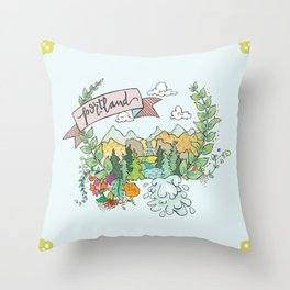 Portland Throw Pillow