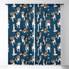 Beagle Blackout Curtain