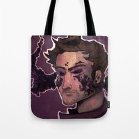 starlord Tote Bags featuring Starlord by Livvy