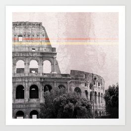 Colosseum Rome Italy Art Print