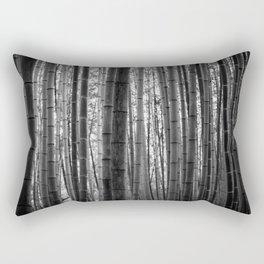 Bamboo Monochrome Rectangular Pillow