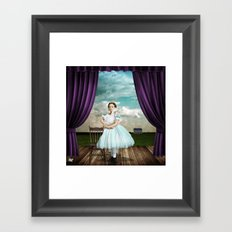 The Audition Framed Art Print