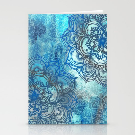 Lost in Blue - a daydream made visible Stationery Cards