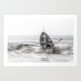 Get In The Boat! Art Print