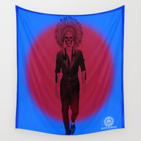 vodka Wall Tapestries featuring Scarce on Chiefs by SaintCastro