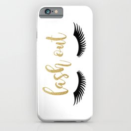 Lash Out iPhone Case