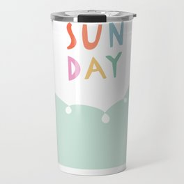 Sunday in Mint Travel Mug