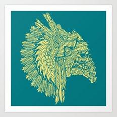Native American Storm Trooper  Art Print