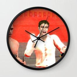 SquaRed: Geometry of Lobachevsky Wall Clock