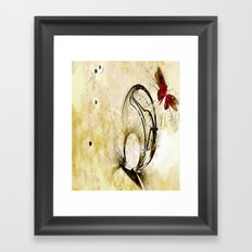 Hollow Goodbyes Framed Art Print