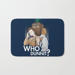 Who Dunnit? Bath Mat