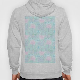 Camel Cabana in Psychedelic Blue Hoody