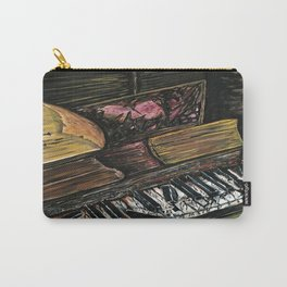Broken Piano Carry-All Pouch