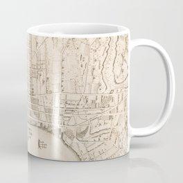 Vintage Map of Philadelphia PA (1802) Coffee Mug