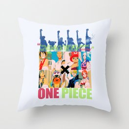 Mask of friendship Throw Pillow