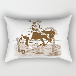 Dude Ranch Rectangular Pillow