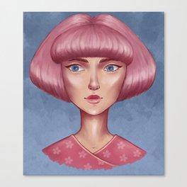 Pink bob Canvas Print