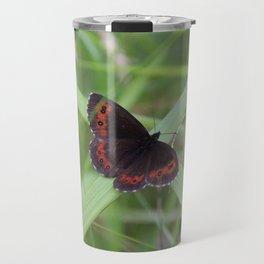 Arran Brown butterfly Travel Mug