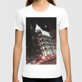Sentinel Building at Night T-shirt