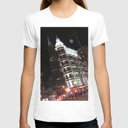 Sentinel Building at Night T-shirt