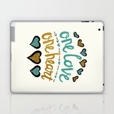 One Love One Heart Laptop & iPad Skin