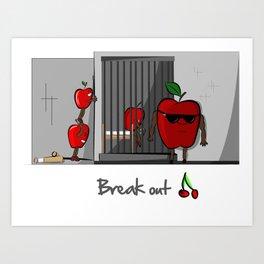 Break Out Art Print
