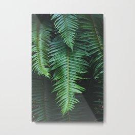 50 Shades of Green Metal Print