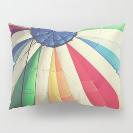 Rainbow Balloon Pillow Sham