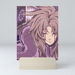 aries shion Mini Art Print