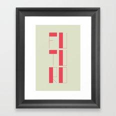 FUTURO Framed Art Print