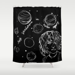 Coming Down Shower Curtain