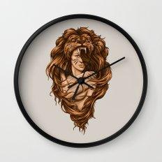 Lion Queen Wall Clock